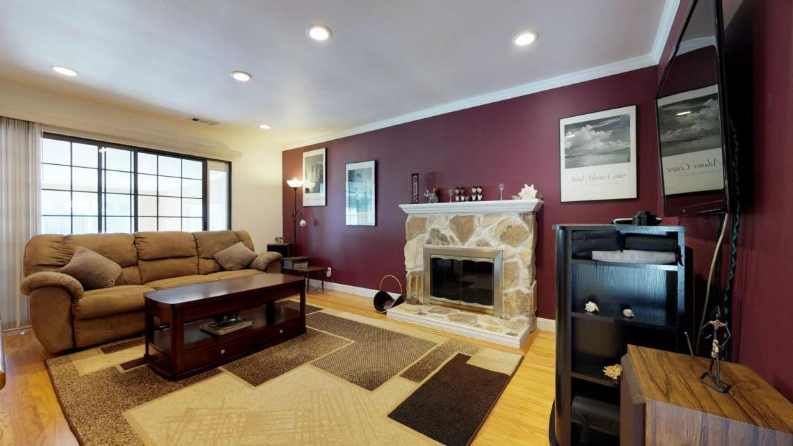 6823 Normandy Drive, Newark (Living Room)
